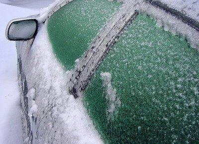 Спасти машину от льда